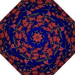 Batik  Fabric Straight Umbrellas