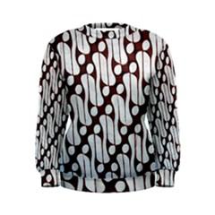 Batik Art Patterns Women s Sweatshirt