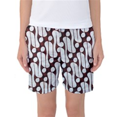 Batik Art Patterns Women s Basketball Shorts