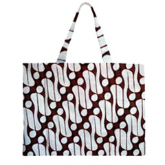 Batik Art Patterns Large Tote Bag