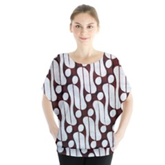Batik Art Patterns Blouse