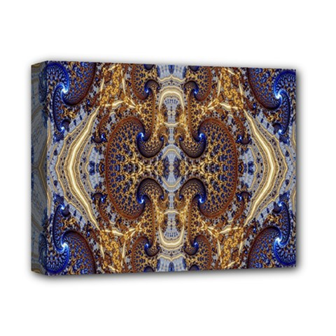 Baroque Fractal Pattern Deluxe Canvas 14  x 11