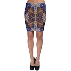 Baroque Fractal Pattern Bodycon Skirt