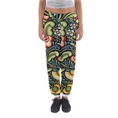 Bohemia Floral Pattern Women s Jogger Sweatpants