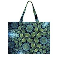 Blue Lotus Large Tote Bag
