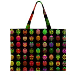 Beetles Insects Bugs Zipper Mini Tote Bag