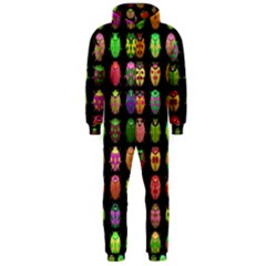 Beetles Insects Bugs Hooded Jumpsuit (Men)