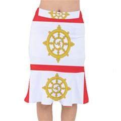 Flag Of Sikkim, 1967 1975 Mermaid Skirt