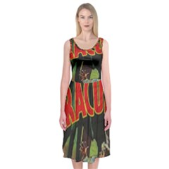 Dracula Midi Sleeveless Dress