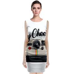 Say Cheese Classic Sleeveless Midi Dress