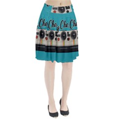 Say Cheese Pleated Skirt