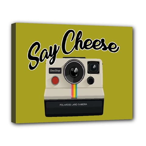 Say Cheese Canvas 14  x 11