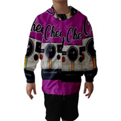 Say Cheese Hooded Wind Breaker (Kids)