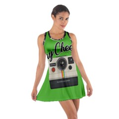 Say Cheese Cotton Racerback Dress