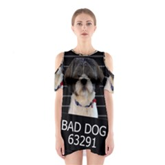 Bad dog Shoulder Cutout One Piece