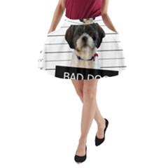Bad dog A-Line Pocket Skirt