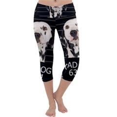 Bad dog Capri Yoga Leggings