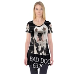Bad Dog Short Sleeve Tunic