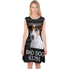 Bad dog Capsleeve Midi Dress