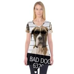 Bad dog Short Sleeve Tunic