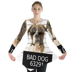 Bad dog Long Sleeve Tunic