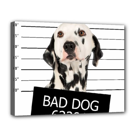 Bad dog Canvas 14  x 11