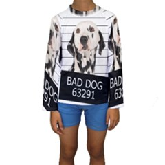 Bad Dog Kids  Long Sleeve Swimwear