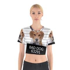 Bad dog Cotton Crop Top