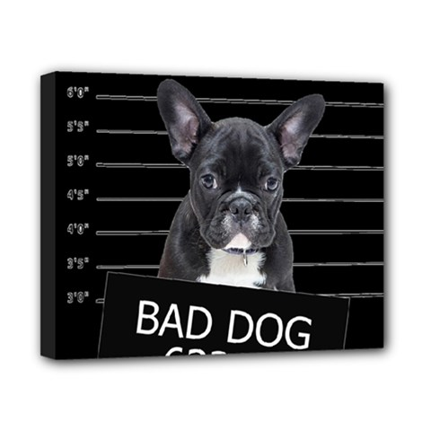 Bad dog Canvas 10  x 8