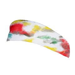 Colorful Paint Stokes           Stretchable Headband