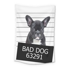 Bad Dog Small Tapestry