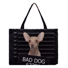 Bad dog Medium Tote Bag