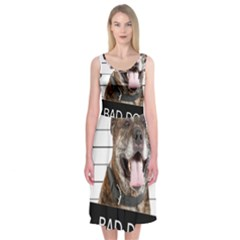 Bad dog Midi Sleeveless Dress