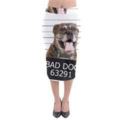 Bad dog Midi Pencil Skirt