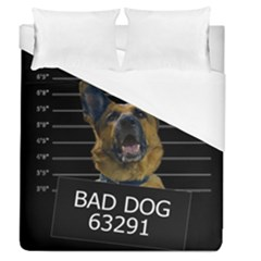 Bad Dog Duvet Cover (queen Size)