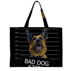 Bad dog Large Tote Bag