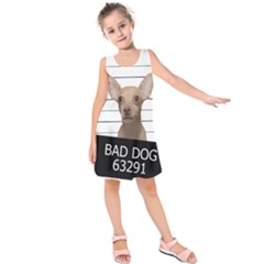 Bad dog Kids  Sleeveless Dress
