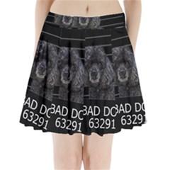 Bad dog Pleated Mini Skirt