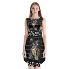 Bad dog Sleeveless Chiffon Dress
