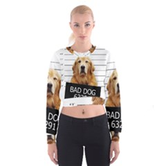 Bad dog Cropped Sweatshirt