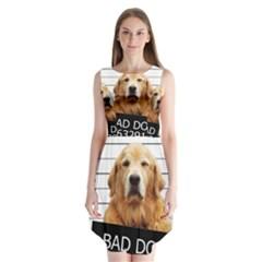 Bad dog Sleeveless Chiffon Dress