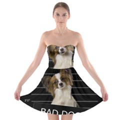 Bad dog Strapless Bra Top Dress