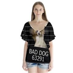 Bad dog Flutter Sleeve Top