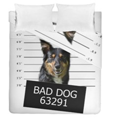 Bad Dog Duvet Cover Double Side (queen Size)