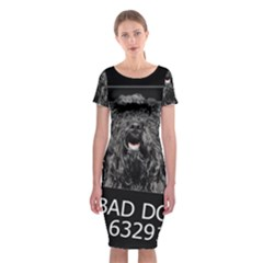 Bad dog Classic Short Sleeve Midi Dress