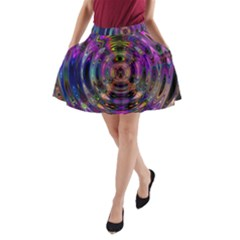 Color In The Round A-Line Pocket Skirt