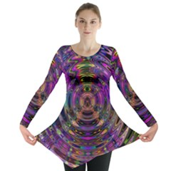 Color In The Round Long Sleeve Tunic
