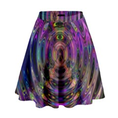Color In The Round High Waist Skirt