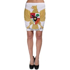 National Emblem Of Indonesia  Bodycon Skirt