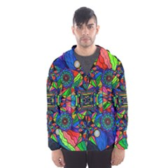 Out Of Body Activation Grid - Hooded Wind Breaker (Men)